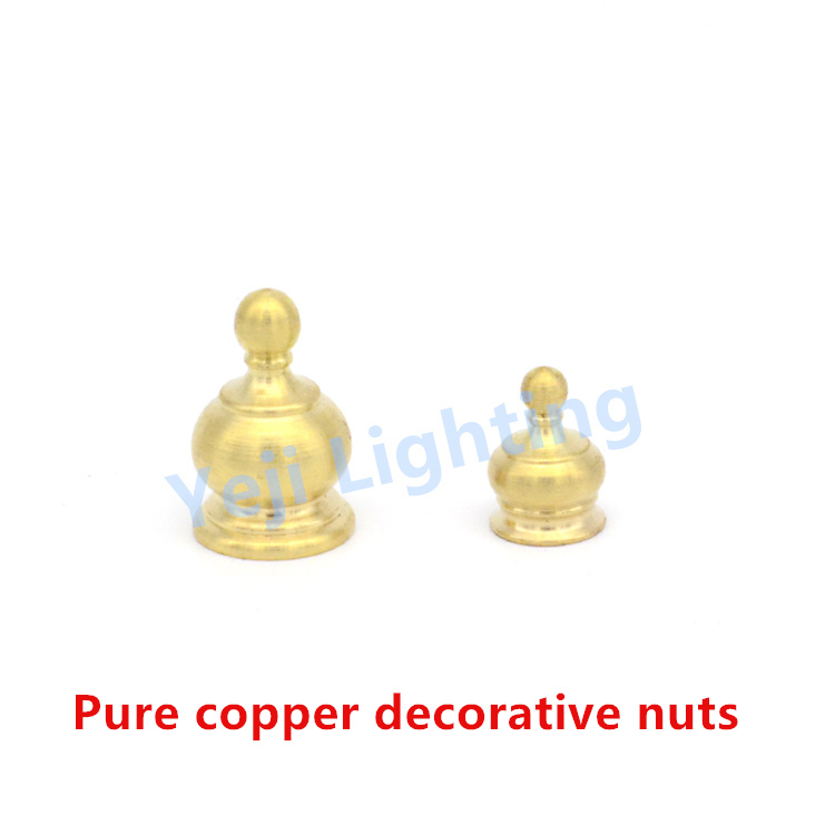 <strong>M10</strong> Pure copper decorative nuts <strong>brass</strong> screw retro edison ceiling rose ceiling plate lamp base fittings lighting accessories diy