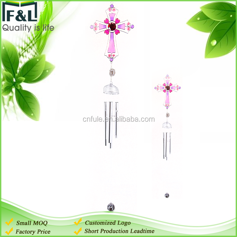 factory price custom logo home and garden decoration beautiful resin wind chime