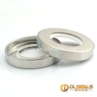 high abrasion resistance rubber wares Machine And Automotive Lip double lips ptfe stainless steel oil seal