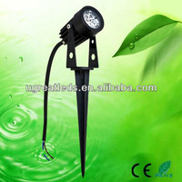 High efficiency outdoor ground waterproof IP65 low voltage 3W 12V led garden light