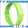 Low Cost High Quality calorie wristband watch pedometer