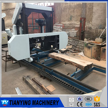 High Quality Automated Horizontal Band Saw Mobile Sawmill For Wood Cutting