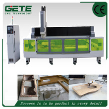 2513 Automatic tools chanager cold stone marble slab top fry ice cream machine kitchen stone countertop cnc machine