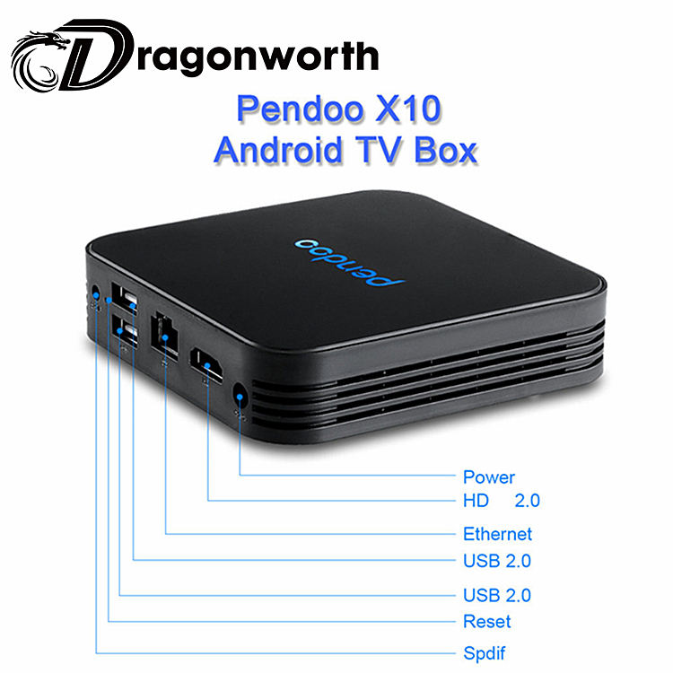 Pendoo <strong>X10</strong> 4K Hub tv box Amlogic S905w 2G 16G Android 7.1 Dual <strong>Wifi</strong>,BT android 4K TV Box X96 TX3