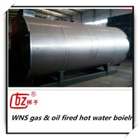 Horizantal domestic gas oil fired hot water boiler for sale