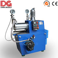 horizontal pigments 10l dick type sand mill for paints and inks