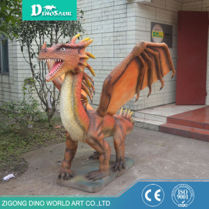 Remote Control Cute Flying Dragon Animatronic