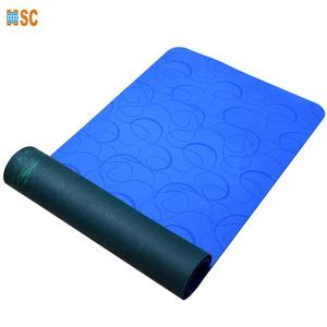 Sport natural rubber eco friendly gym yoga mat