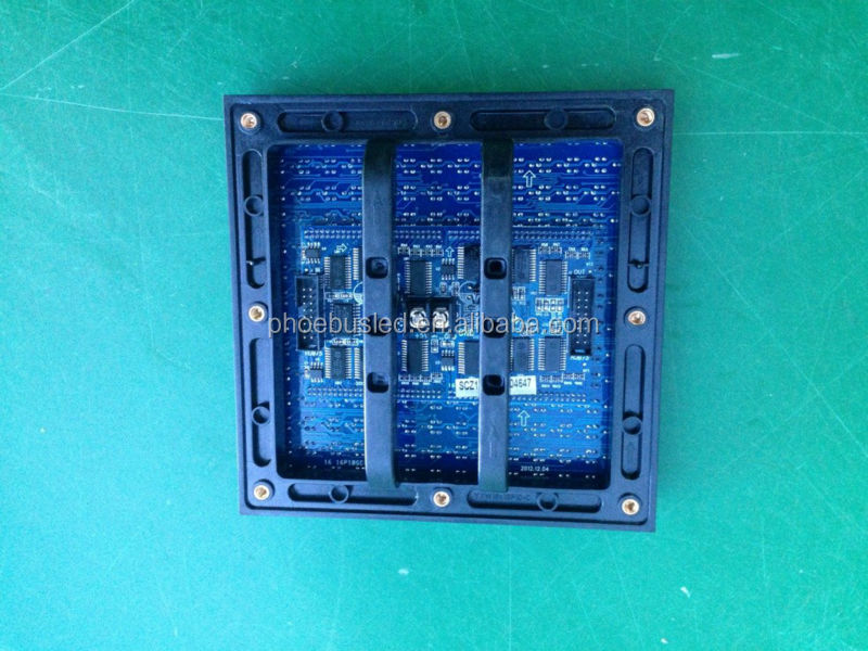 Long lifespan outdoor p10 full color led module