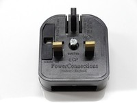 Life Quality Top Taste Sweden to uk adapter plug/Sweden Travel adapter/UK converter with 3A fuse BSI certificate