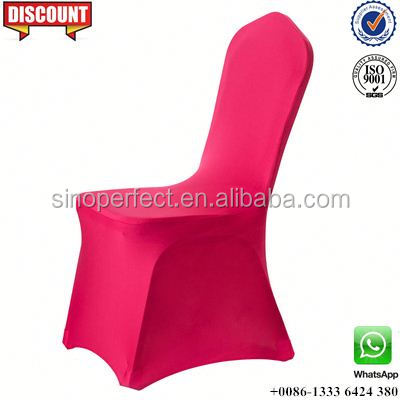 Foshan near Guangzhou China stretch wholesale chair cover for wedding banquet