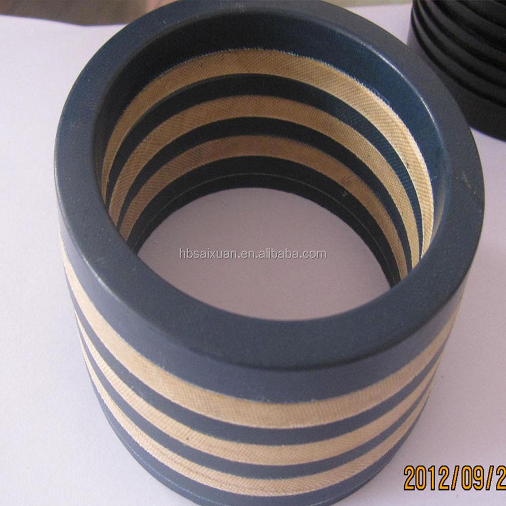 Extra large diameter nbr fkm viton chevron packing seals