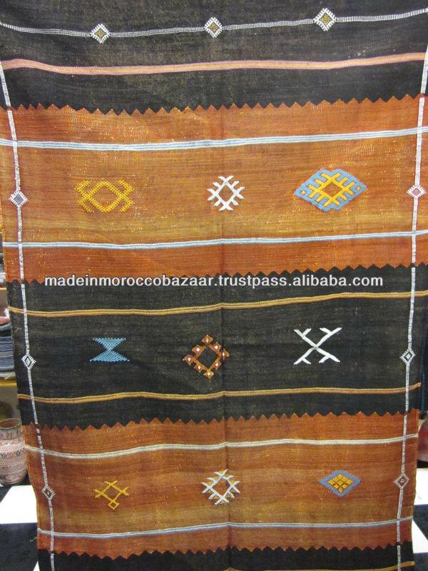 Precio al por mayor marroqu kilim alfombras de seda for Alfombra kilim precio