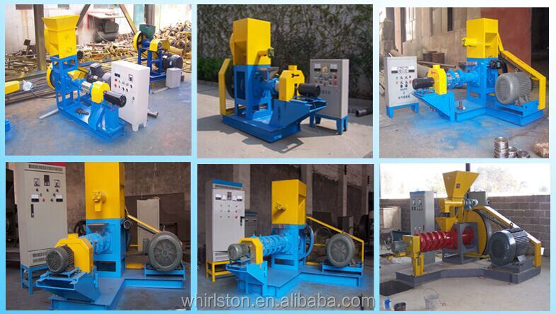 Widely used animal feed extruder machine