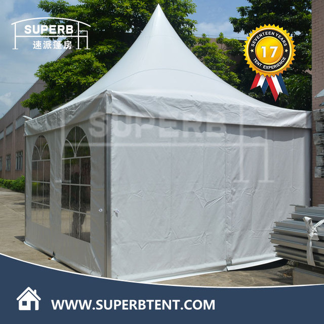 German 10x10 wholesale metal frame outdoor canopy tent with sidewalls