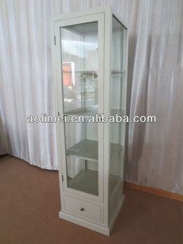french glass cabinet