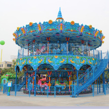 Deluxe attractive double deck carousel for sale