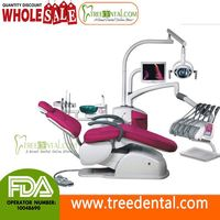 TR-A6600 Computer Control Unique Electric Dental Chair/Unit(leather cushion) dental products
