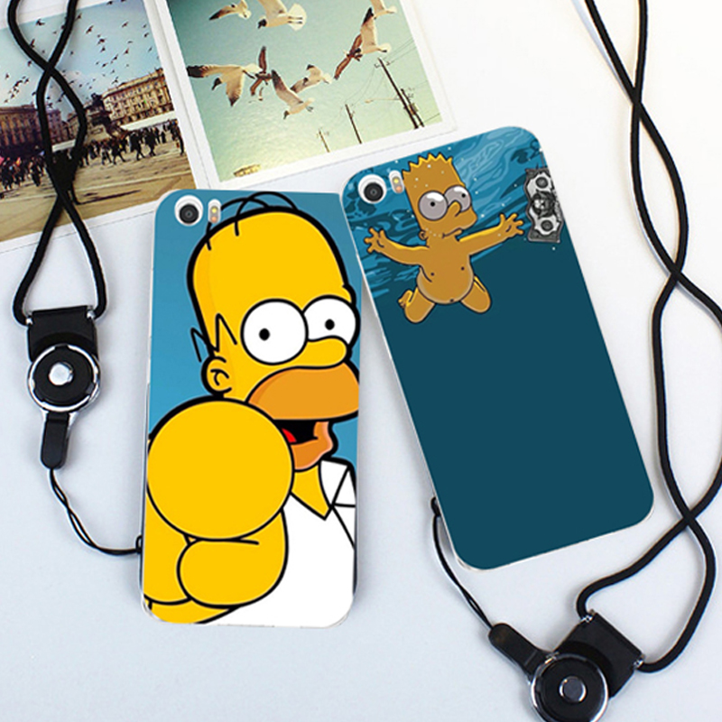 Simpsons case For Xiaomi Note Factory Direct Wholesale Customized Diy Cartoon 3D uv ink printing Case