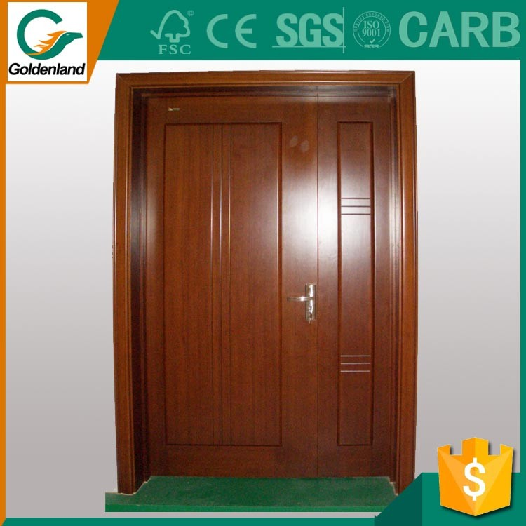 European Style PVC membrane MDF cupboard cabinet kitchen door only