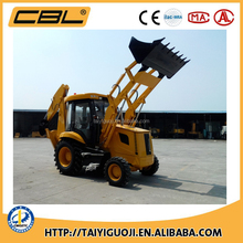 CBL25-10 4WD wheel backhoe loader 7ton, mature hydraulic systems in China,new case backhoe with front loader and back excavator