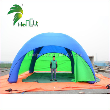 Outdoor Inflatable Airtight Tent Shade / Best Inflatable Airtight Camping Tent 8Man