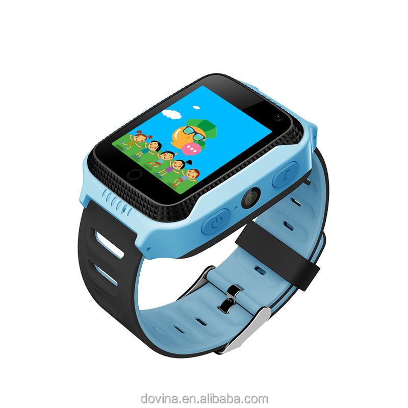Kids Smart Watch Mobile <strong>Phone</strong> With Gps Sos Sim, Led Touch Screen Watch