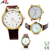 luxury luminous Arabian arabic numbers watch arabic numerals dial wrist watch