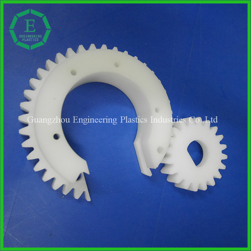 high precision custom color standard size monomer casting nylon plastic spur gear