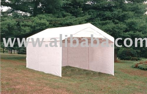 10' X 20' 8-Leg Auto / Storage Shelter All Purpose Canopy Series Shelter Logic