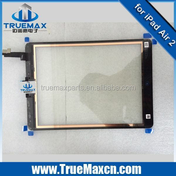Factory Price Wholesale for iPad tablet parts, Original Touch Screen + Touch Display for iPad Air 2