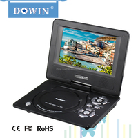 Factory price manufacture wholesale OEM nice quality warranty home family car 7 Inch TFT LCD Screen Digital Portable DVD Player