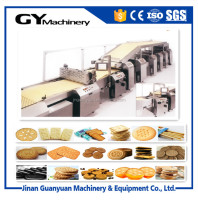 high yield production of butter cookies processing production line