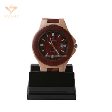 The newest design and eco-friendly wholesale wood watch cheap custom logo watches for man