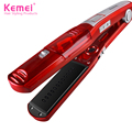 Kemei3011 steam and dry iron hair straighteners Professional Hairstyling Portable Ceramic Hair Straightener Irons Styling Tools