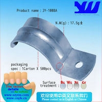 JY-1008A|Metal hot dip galvanized pole clamp|Steel metal pipe clamp