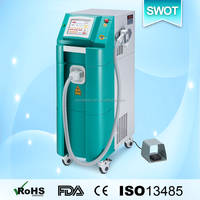 Germany made high power 800w 808 diode laser hair removal device with water and compressor refrigeration cooling system