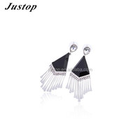 2016 promotional for sale Rare and precious fashion accessory earring with white tassel