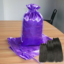 custom hair bags, hair accessory packaging