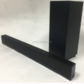 New model 2.1 channel bluetooth sound bar with wireless subwoofer