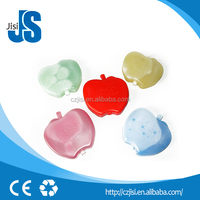 SGS Certification and Ice replacement Type Gel pack,mini plastic ice blue gel box,apple shaped reusable camping ice pack