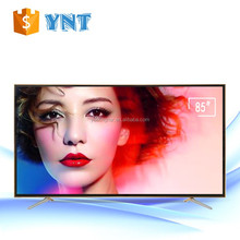 Flat Screen 85 inch used led tv 84 inch led tv hotel commercial led tv with wifi