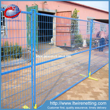 anping pvc coated cheap price temporary removable used fence