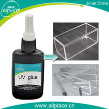 Alibaba Trade Assurance fast curing uv glue for acrylic furniture
