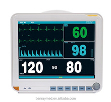 BR-PM07 15 inch patient monitoring used medical equipment multi parameter patient monitor