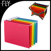 hot selling colorful paper material hanging file folder