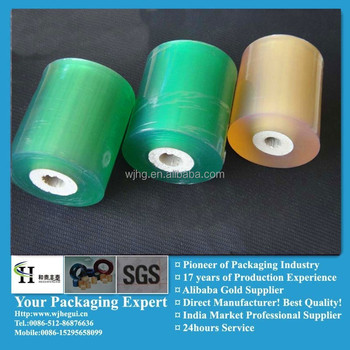 pvc stretch film plastic wrapping roll