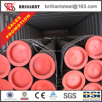 Trade Assurance standard length schedule 40 seamless 20 inch carbon steel pipe price per ton