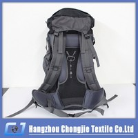 Promotional Large Waterproof Mountaineering Sport Bike Backpack Hiking Camping Bag