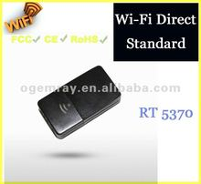 DTVs WiFi Direct Standard Nano Wi-Fi USB Dongle with 5370 Chipset